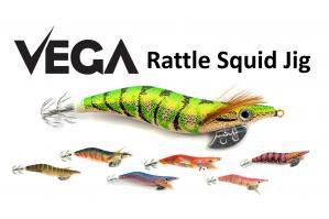 Vega Rattle Squid Jig