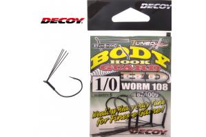 Decoy Worm 108 Body Hook...