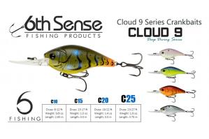 6th Sence Cloud 9 - C10