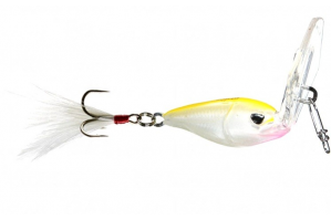 Molix Lover Special Vibration Jig Treble Hook 02 White Chartreuse