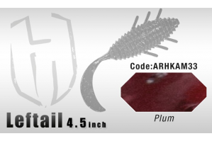Herakles Left Tail 4.5 Watermelon Red