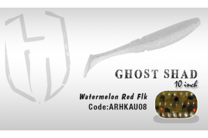 Herakles Ghost Shad 10cm Smoke Pink Shad