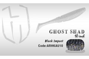 Herakles Ghost Shad 10cm Smoke Pink Shad