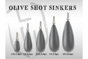 Herakles Olive Shot Sinkers
