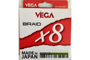 Vega Braid X8 - 300m Moss Green