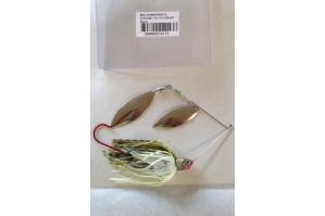 Baitsfishing BBS Spinnerbait Chrome 3/8 DW Baby Bass