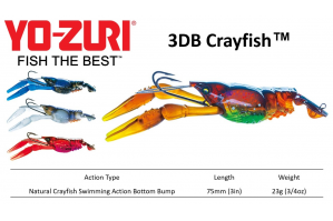 Yo-Zuri 3DB Crayfish™