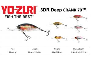 Yo-Zuri 3DR Deep Crank™