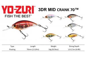"Yo-Zuri Mid Crank 2-3/4""™"