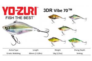 Yo-Zuri 3DR Vibe™