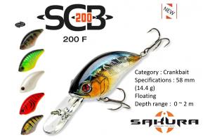 Sakura SCB Crank 200F