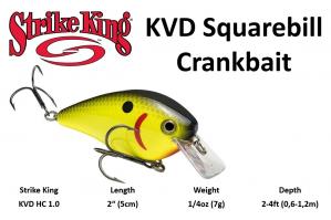 Strike King KVD HC Square...