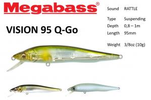 Megabass Vision 95 Q-Go