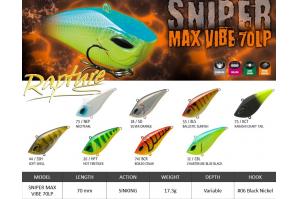 Rapture Sniper Max Vibe 70LP