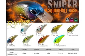 Rapture Sniper Squarebill 50SR